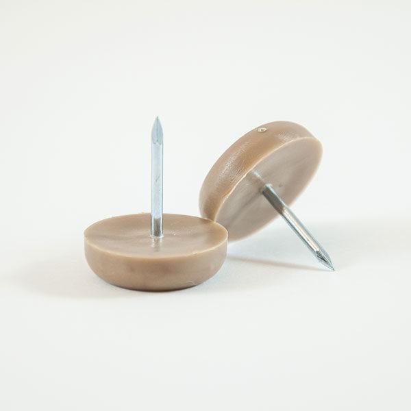 Tan Plastic/Nylon Furniture Glide